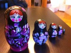Russian Dolls (Purple!)