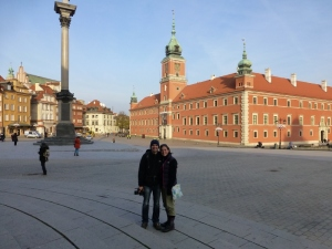 The beautiful old town square