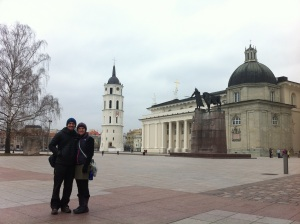 The Old Town Square in Lithuainia