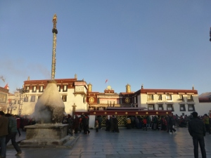 The Kora around the Jokhang Temple