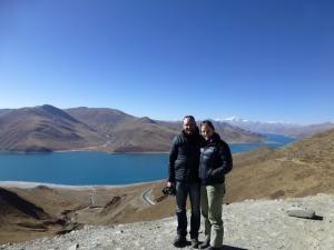 Yamdrak-tso Lake - stunning
