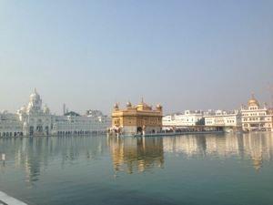 The magical Golden Temple