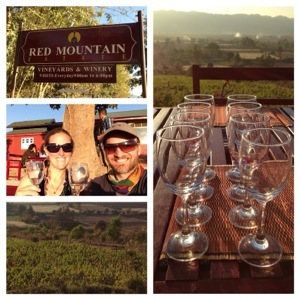A snapshot of Red Mountain Estate