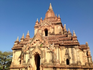 One of our favourite temples in Bagan