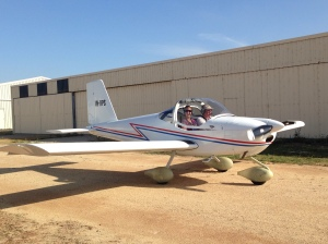 ... Later in the week flying with the F.I.L (Father-in-Law!)