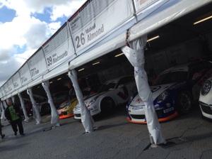Porsche's on display