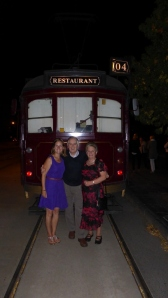 With Mum and Dad by Tram number 4