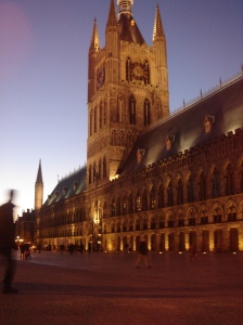 The Iper Cloth Hall, home to the Flanders Fields Museum