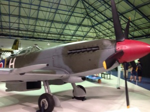 One of the greatest military aircraft of all time, the Submarine Spitfire