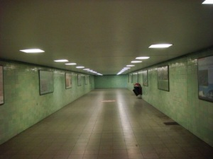One of Berlin's former 'Ghost Stations', closed off during the Cold War and division of the city