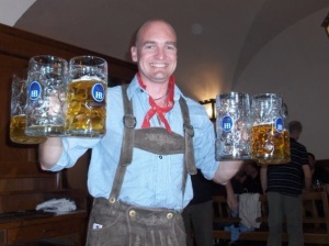 Start building your drinking fitness before Oktoberfest!