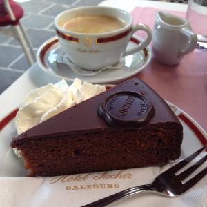 Sacher torte, yum!!