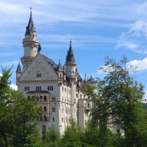 Rear facade of Neuschwanstein