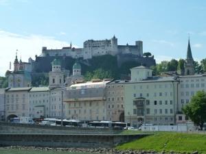 Salzburg's gorgeous Old Town