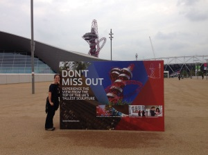 Reliving the good times at  the London 2012 Olympic Park