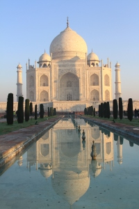 It is almost impossible to take a bad photo of the Taj Mahal