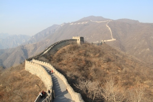 The Great Wall, the largest of the 7 Wonders