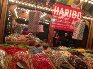 Self service Haribo confectionary, yum!