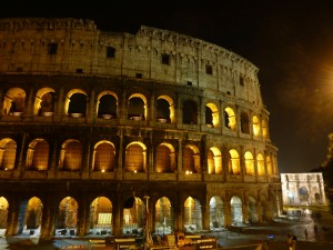Nothing says Rome quite like the Colosseum