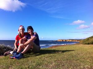 Christmas in Torquay Australia two years ago