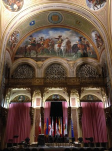 The Vienna Military Museum was the setting for our incredible Mozart recital