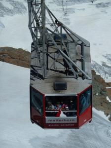 An icy fate awaits Bond's enemy around Zermatt