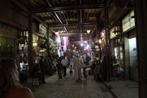 Many of the once thriving souks geared towards tourists are now near empty. Great when searching for a bargain