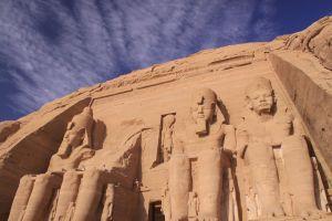 Abu Simbel, before the hordes return