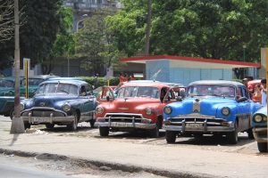 Travelling through Cuba is like a collision between the 1950's and the 2000's