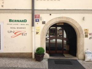 The entrance to the Bernard Beer Spa