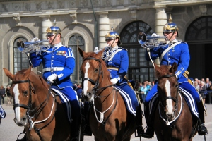 The changing of the guards ceremony drags on a little but the colourful uniforms make for some great photos