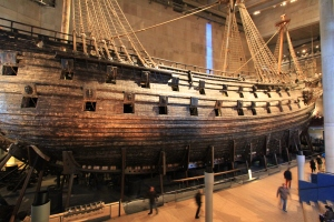 The Vasa is dedicated to Sweden's greatest military and naval disaster but the restoration is amazing